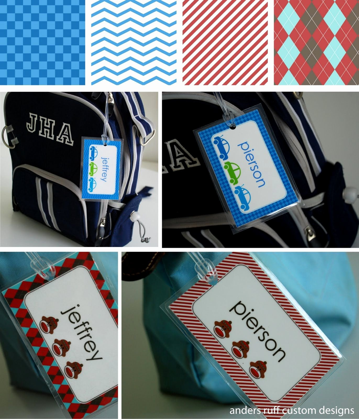 Diy Luggage Tags Template Elegant Fabulous Features by anders Ruff Custom Designs Free