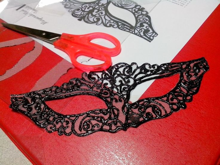 Diy Masquerade Mask Template Elegant Lace Mask Template Printable