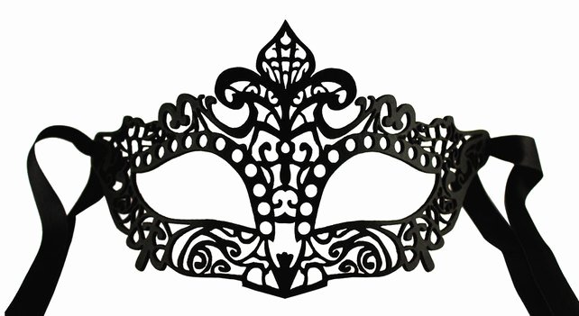 Diy Masquerade Mask Template Fresh Filigree Black Leather Mask Burlesque or Roco Folksy