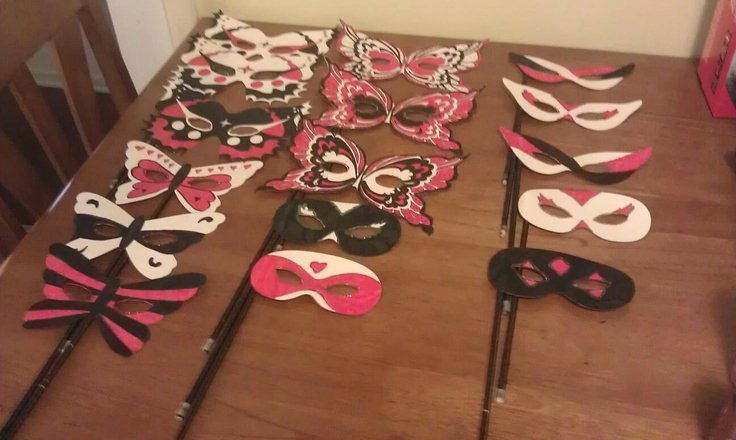 Diy Masquerade Mask Template New 1000 Images About Masquerade Masks On Pinterest