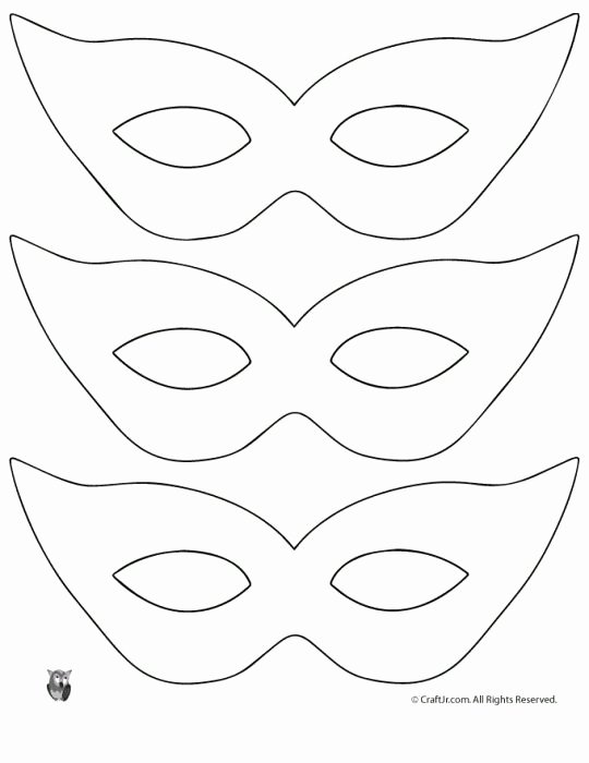 Diy Masquerade Mask Template Unique Best 25 Mask Template Ideas On Pinterest