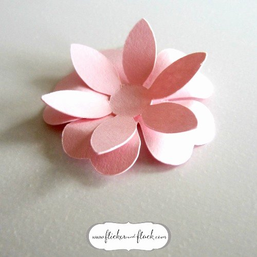 Diy Paper Flower Template Awesome Diy Paper Flower Card [ Freebie Template] Flicker Flock