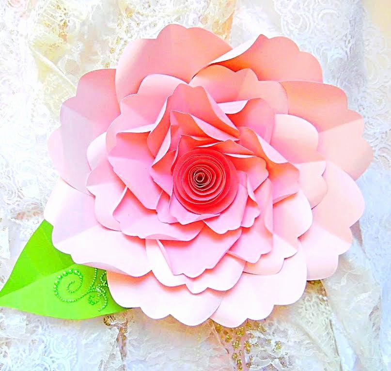 Diy Paper Flower Template Awesome Diy Paper Flower Tutorial with Templates & Rosette