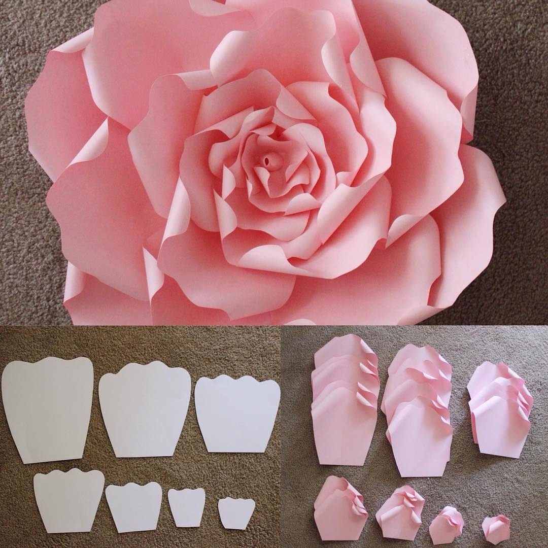 Diy Paper Flower Template Luxury Here are the Templates that are Used to Make A Beautiful