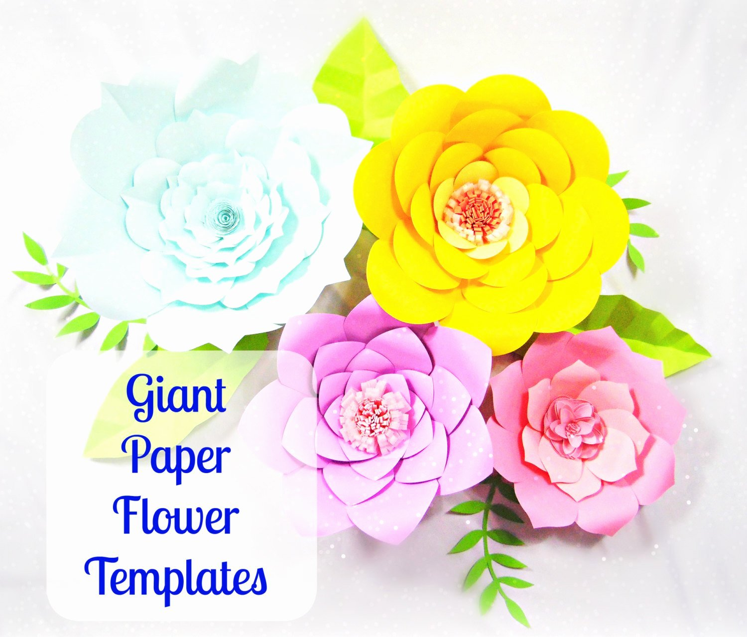 Diy Paper Flower Template New Giant Paper Flower Templates Diy Printable Flower Templates