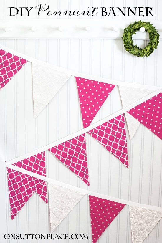 Diy Pennant Banner Template Best Of 25 Best Ideas About Pennant Banner Template On Pinterest