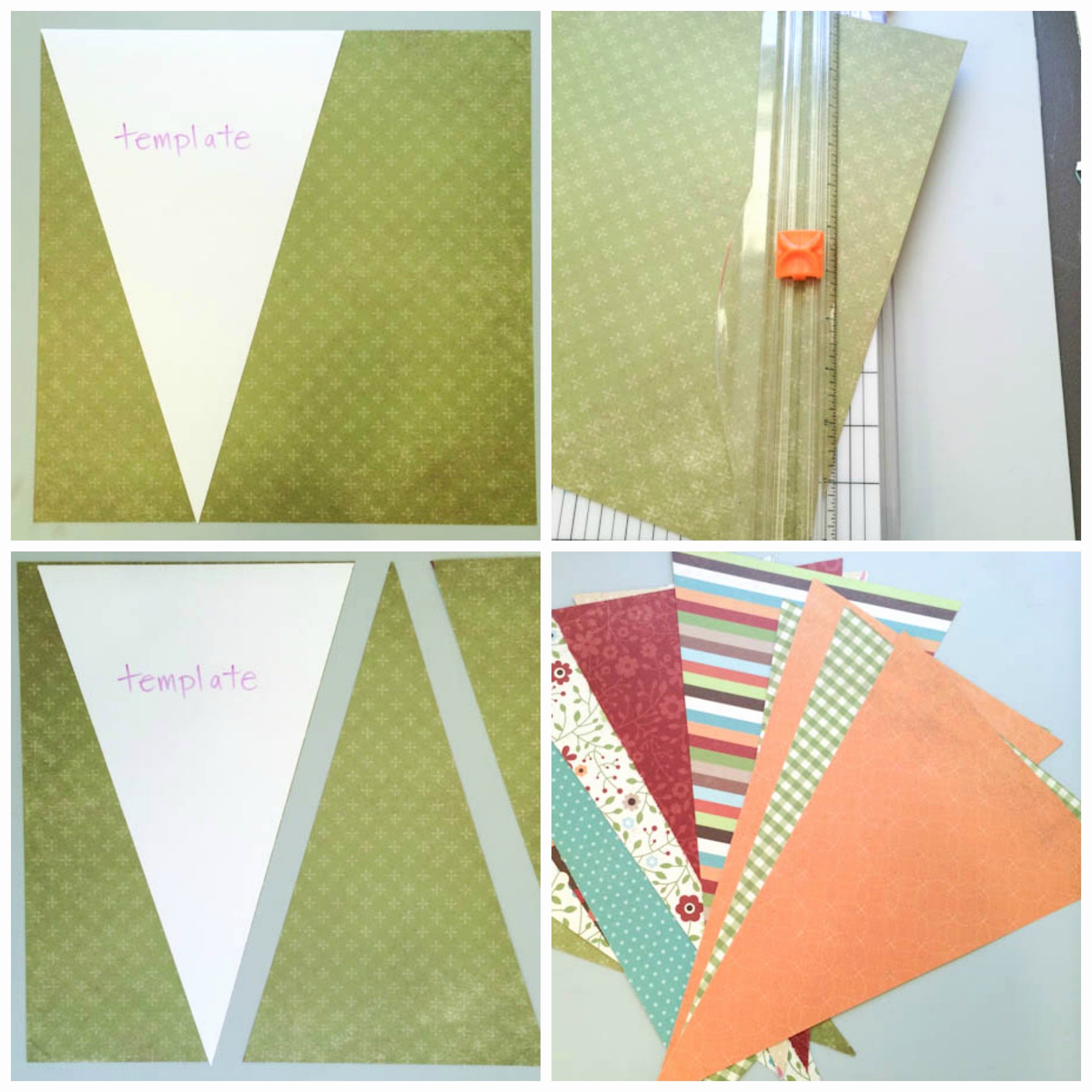 Diy Pennant Banner Template Elegant Diy Decor Free Penant Banner Tutorial On Craftsy