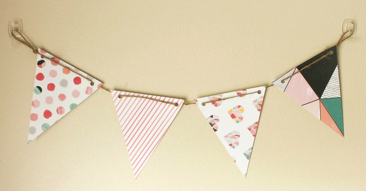 Diy Pennant Banner Template Lovely Diy Paper Pennant Banner W Free Template Mommy Suite