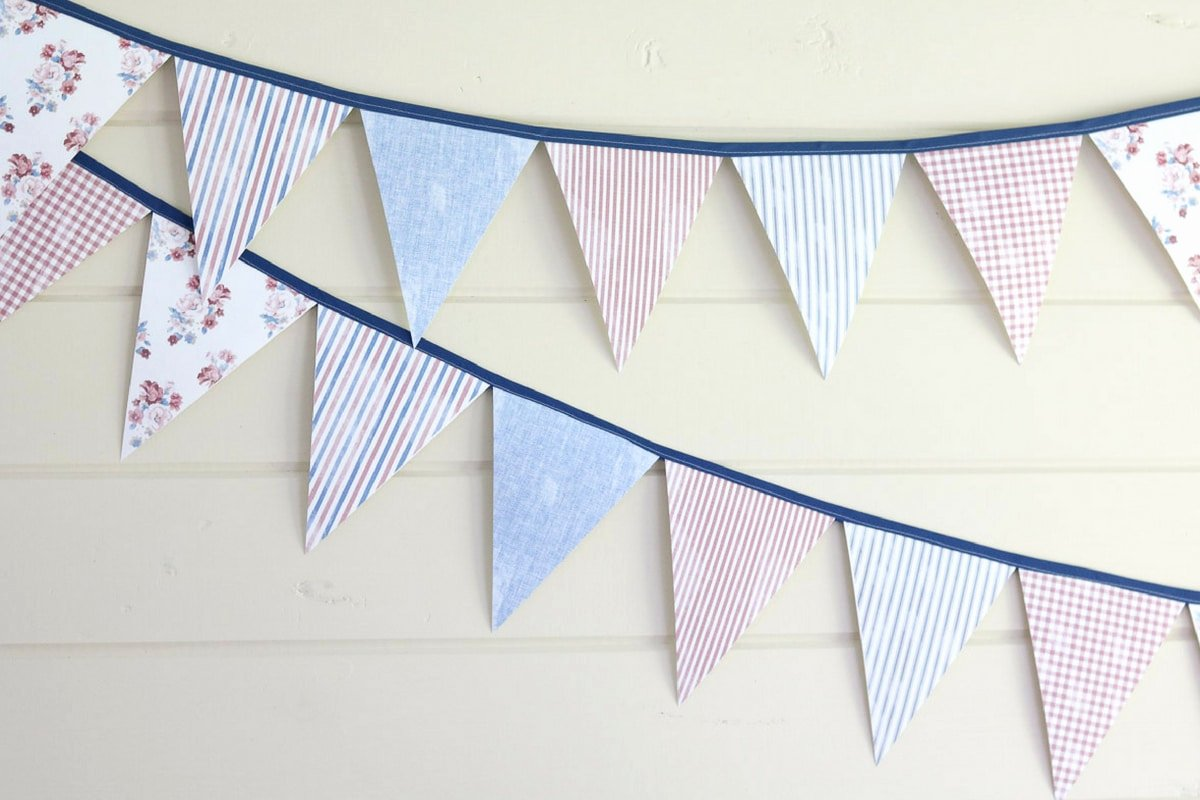 Diy Pennant Banner Template Luxury Diy On How to Make An Easy Pennant Banner Template