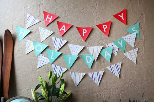 Diy Pennant Banner Template Unique Diy Basics Pennant Flag Banners Free Printables