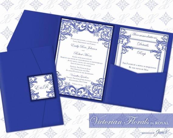 Diy Pocket Invitations Template Lovely Diy Printable Wedding Pocket Invitation Template Printable