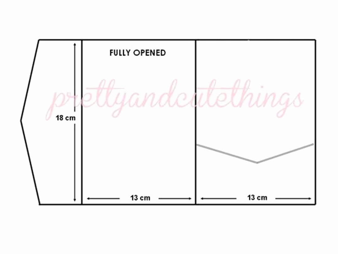 Diy Pocket Invitations Template Lovely Envelope Best Pocket Envelope Template Pocket