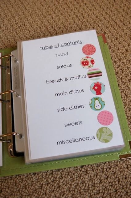 Diy Recipe Book Template Awesome Family Favorites Recipe Book Pile Your Recipes Into A