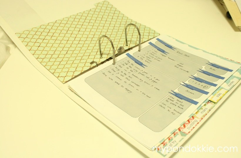Diy Recipe Book Template Awesome My Pondokkie Diy Recipe Book with Free Pdf Download