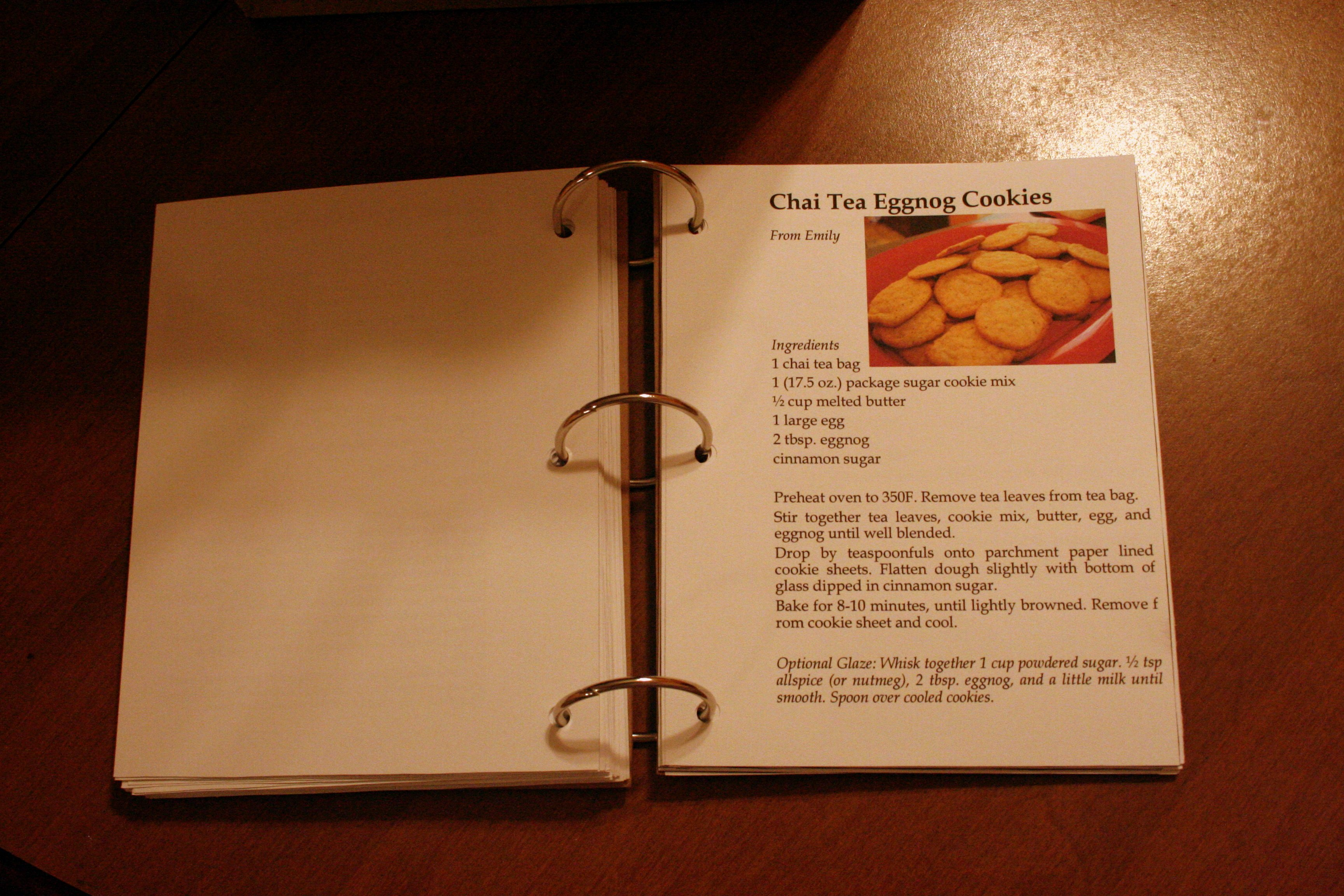 Diy Recipe Book Template Fresh Diy Recipe Book