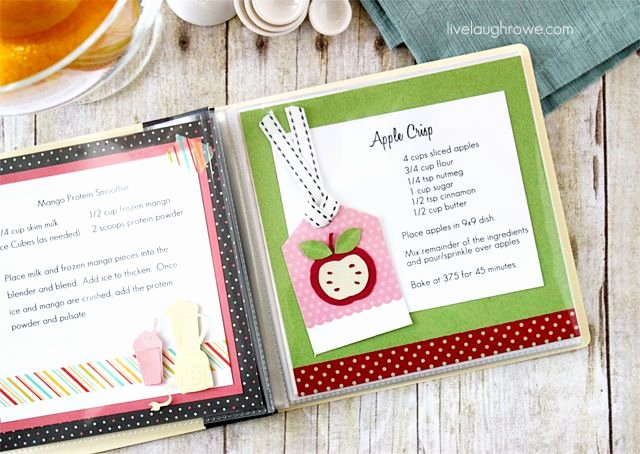 Diy Recipe Book Template Luxury Family Craft Fun