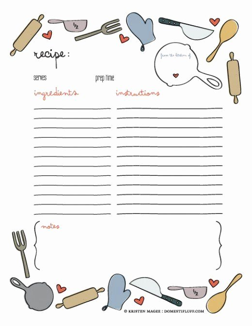 Diy Recipe Book Template Unique 25 Unique Cookbook Template Ideas On Pinterest