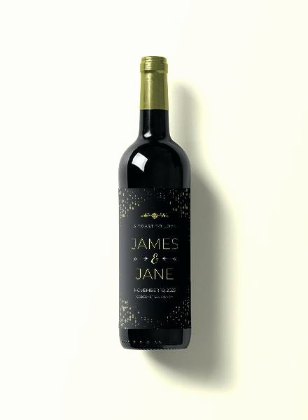 Diy Wine Labels Template Beautiful Damask Wedding Wine Bottle Labels Set 8 Label Template
