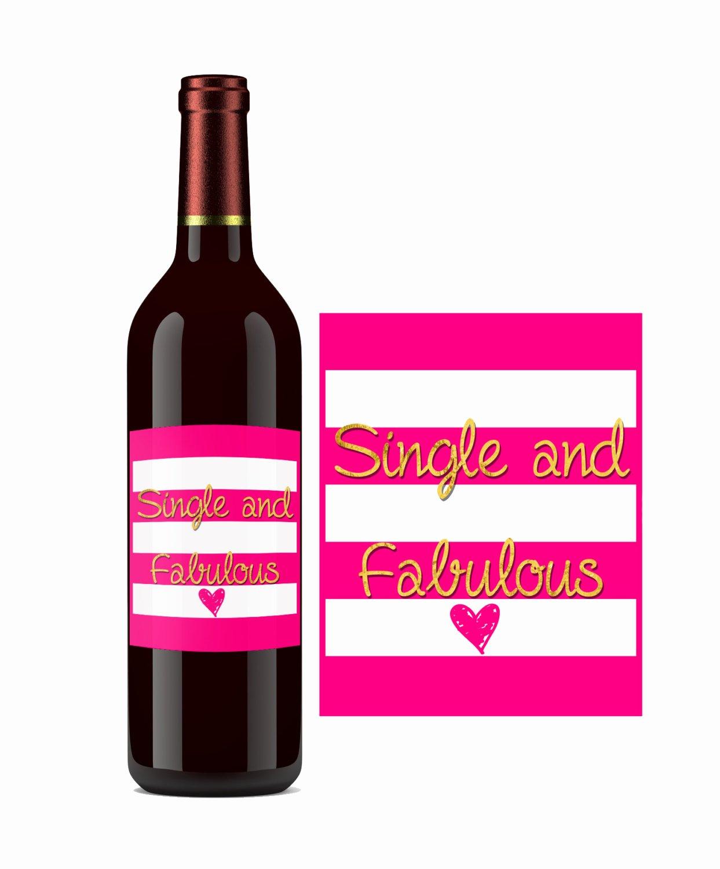 Diy Wine Labels Template Best Of Instant Download Diy Printable Wine Label by Luxepartysupply