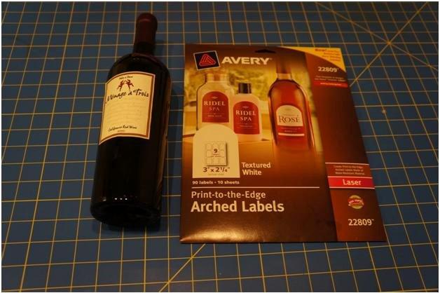 Diy Wine Labels Template Elegant Diy Holiday Wine Labels Think Crafts by Createforless