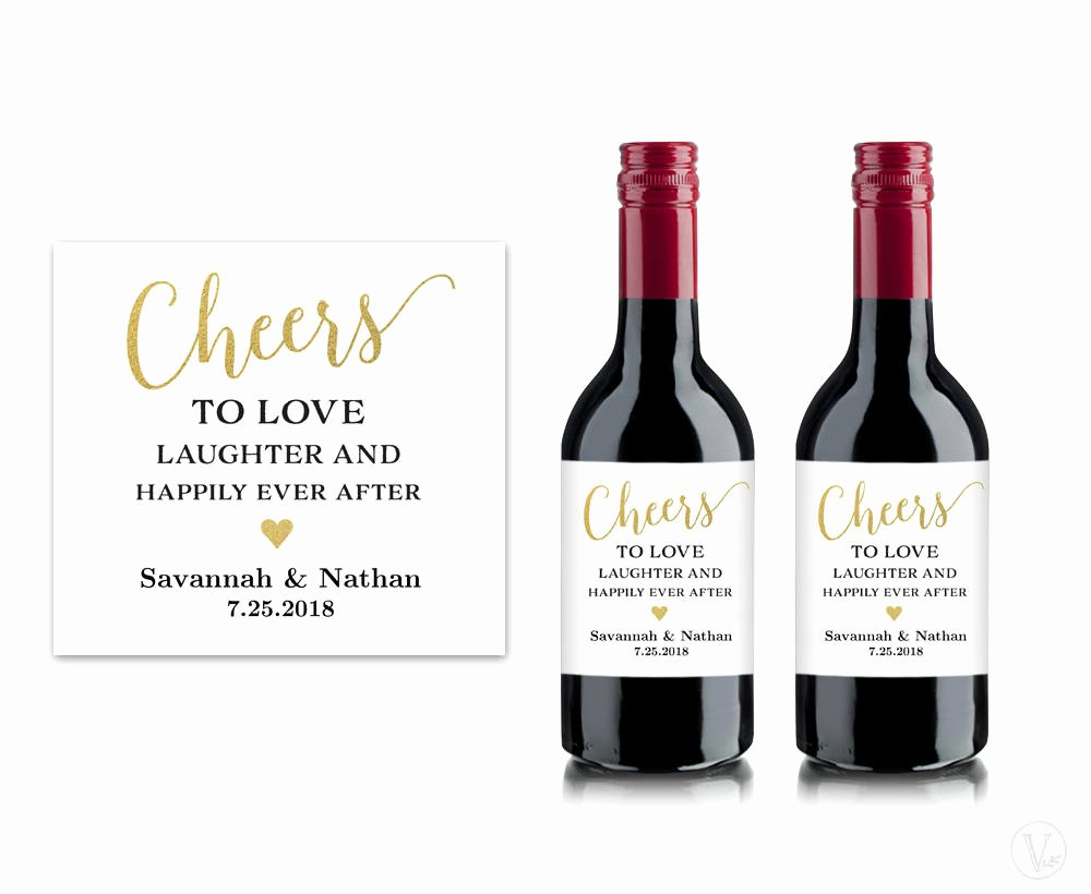 Diy Wine Labels Template Fresh Mini Wine Bottle Labels Printable Wine Bottle Label Template