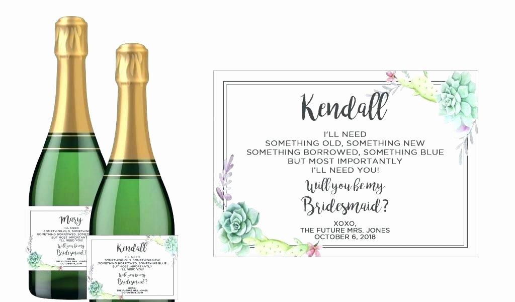 Diy Wine Labels Template Luxury Mini Wine Bottle Labels Personalized Wedding Birthday