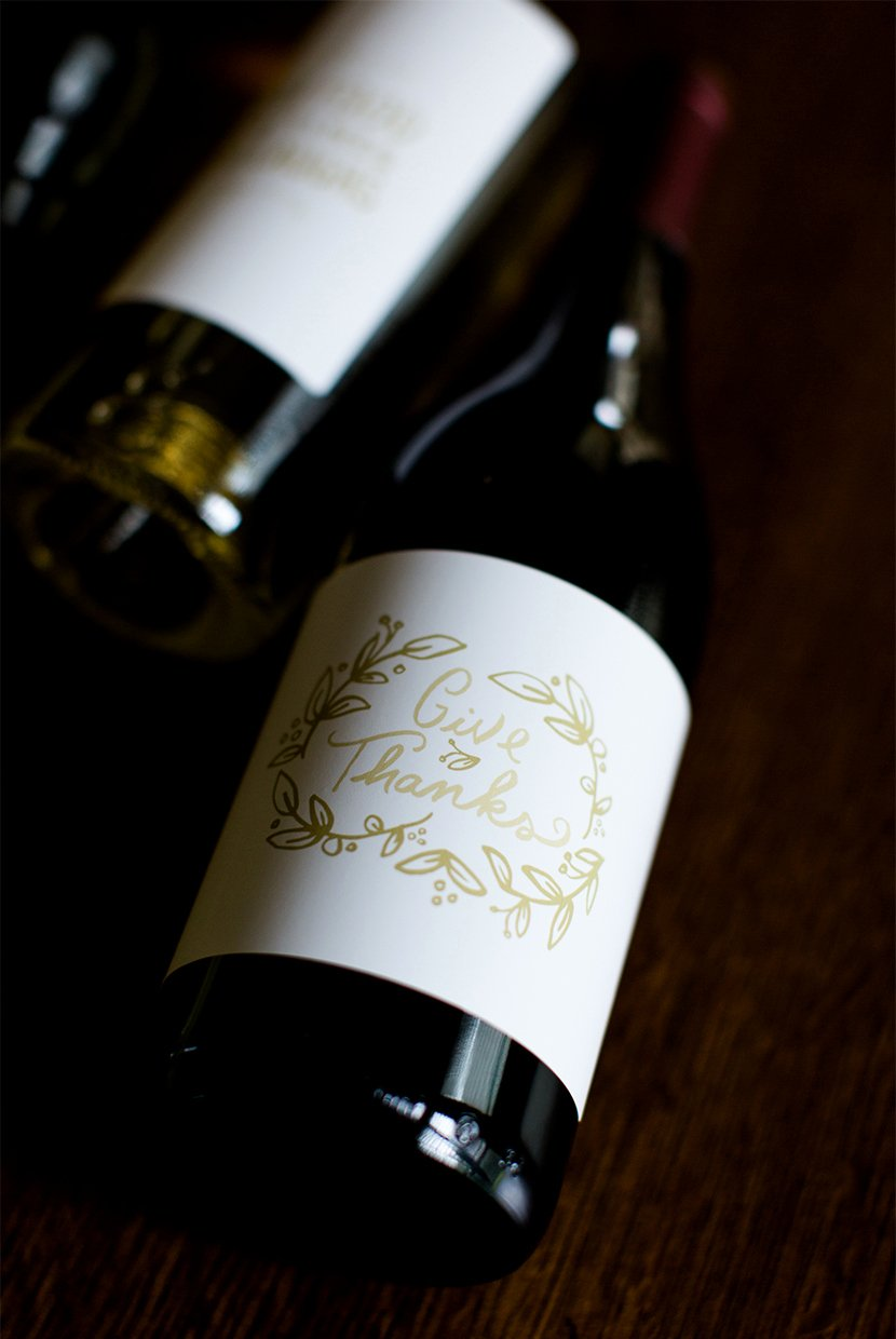 Diy Wine Labels Template New Diy Holiday Wine Labels