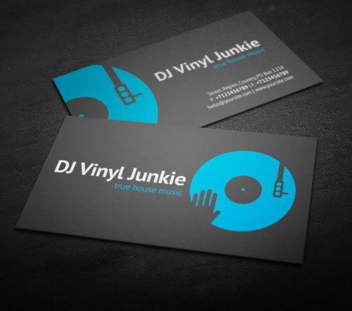 Dj Business Card Template Best Of Amazing Dj Business Cards Psd Templates Design