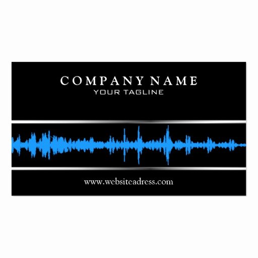 Dj Business Card Template Best Of Dj Music Business Card Template