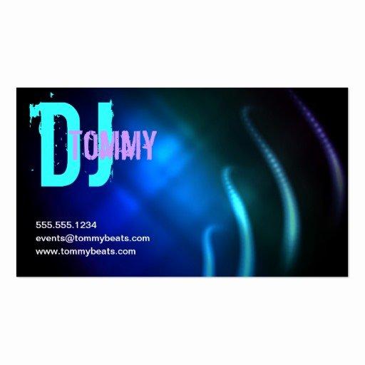 Dj Business Card Template Best Of Premium Dj Business Card Templates