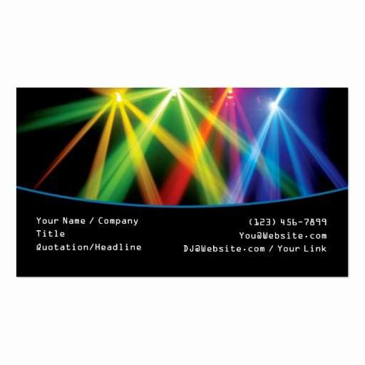 Dj Business Card Template Elegant Premium Dj Business Card Templates