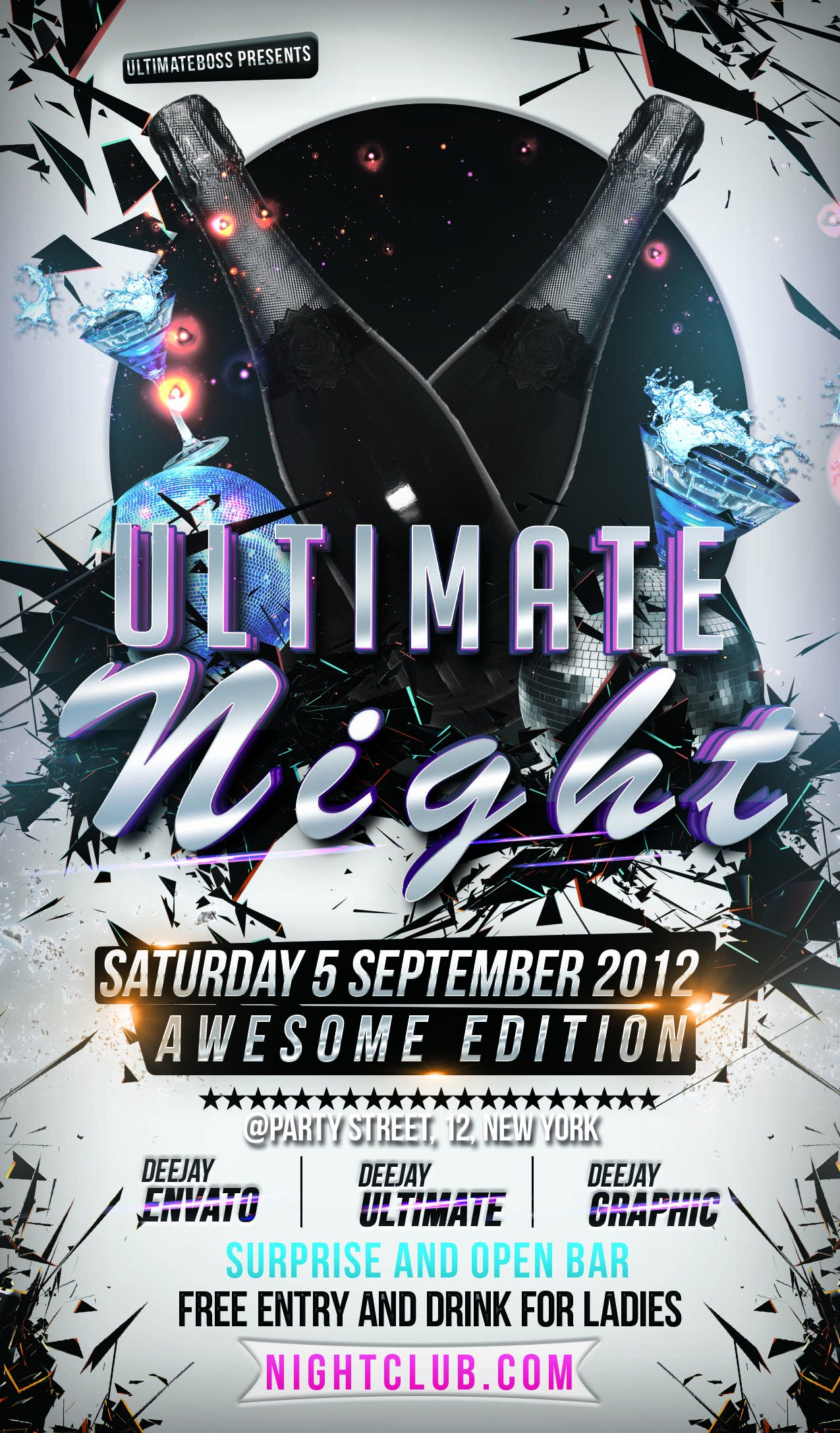 Dj Flyer Template Free Awesome 32 Spectacular Free Dj Flyer Templates Psd Doc Demplates
