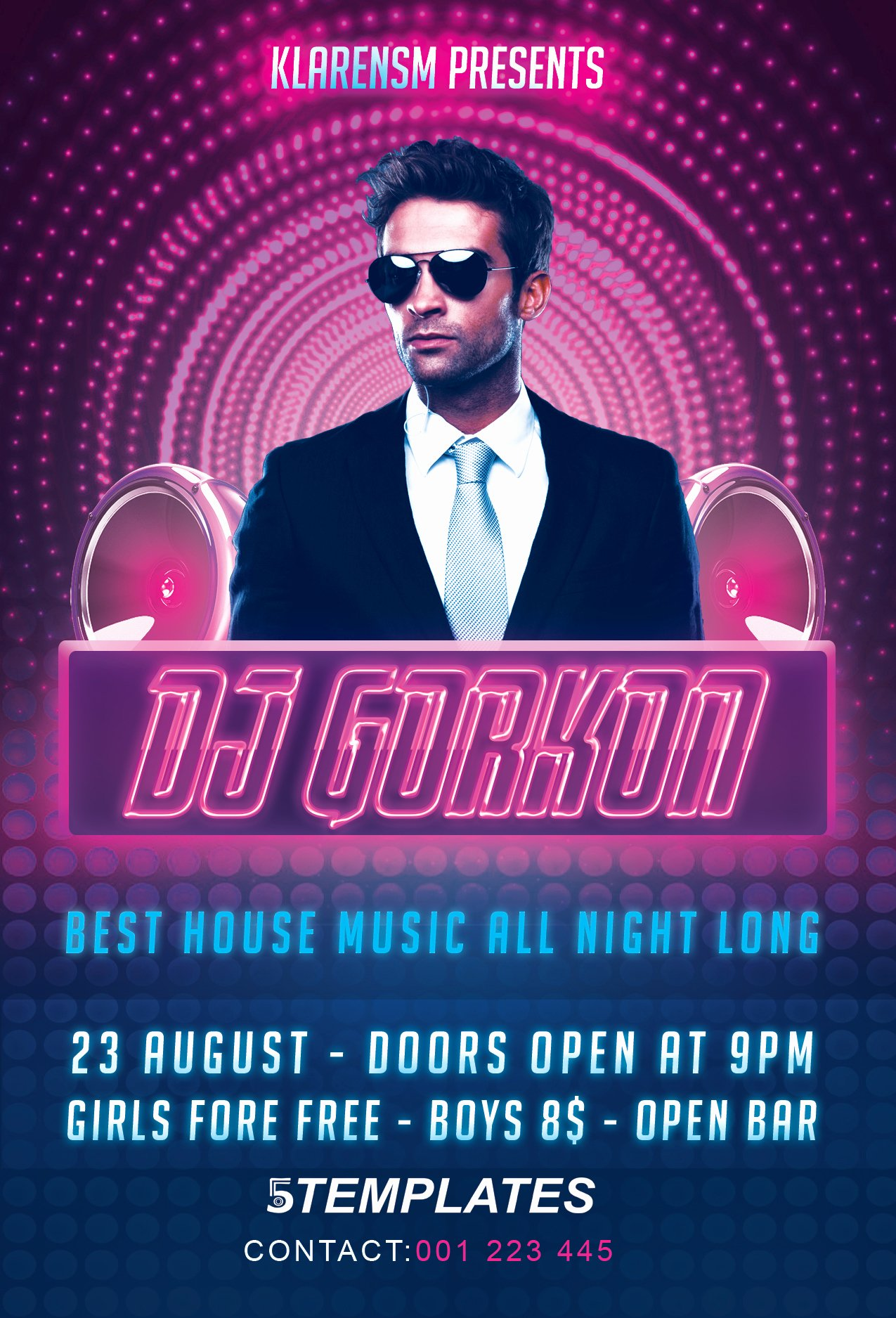 Dj Flyer Template Free Beautiful Guest Dj Flyer Free Psd Template by Klarensm On Deviantart