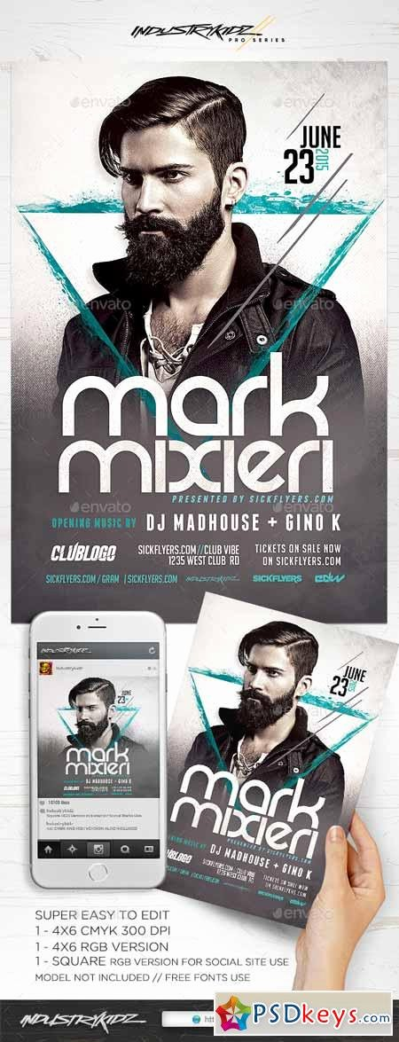 Dj Flyer Template Free Best Of Dj Flyer Template Free Download Shop