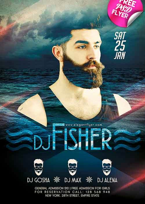 Dj Flyer Template Free New Download Dj event Free Flyer Psd Template