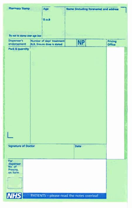 Doctor Prescription Pad Template Beautiful Repeat Prescriptions