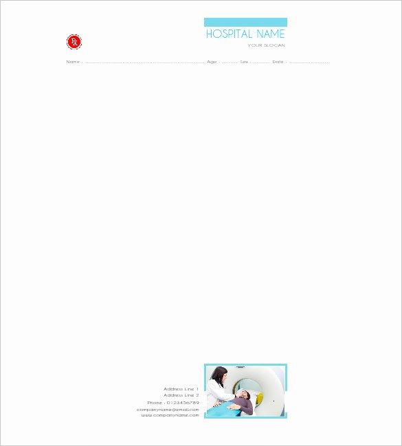 Doctor Prescription Pad Template Inspirational Doctor Prescription Template – 16 Free Word Pdf