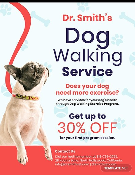 Dog Walking Flyer Template Luxury Free Home Cleaning Service Flyer Template Download 640