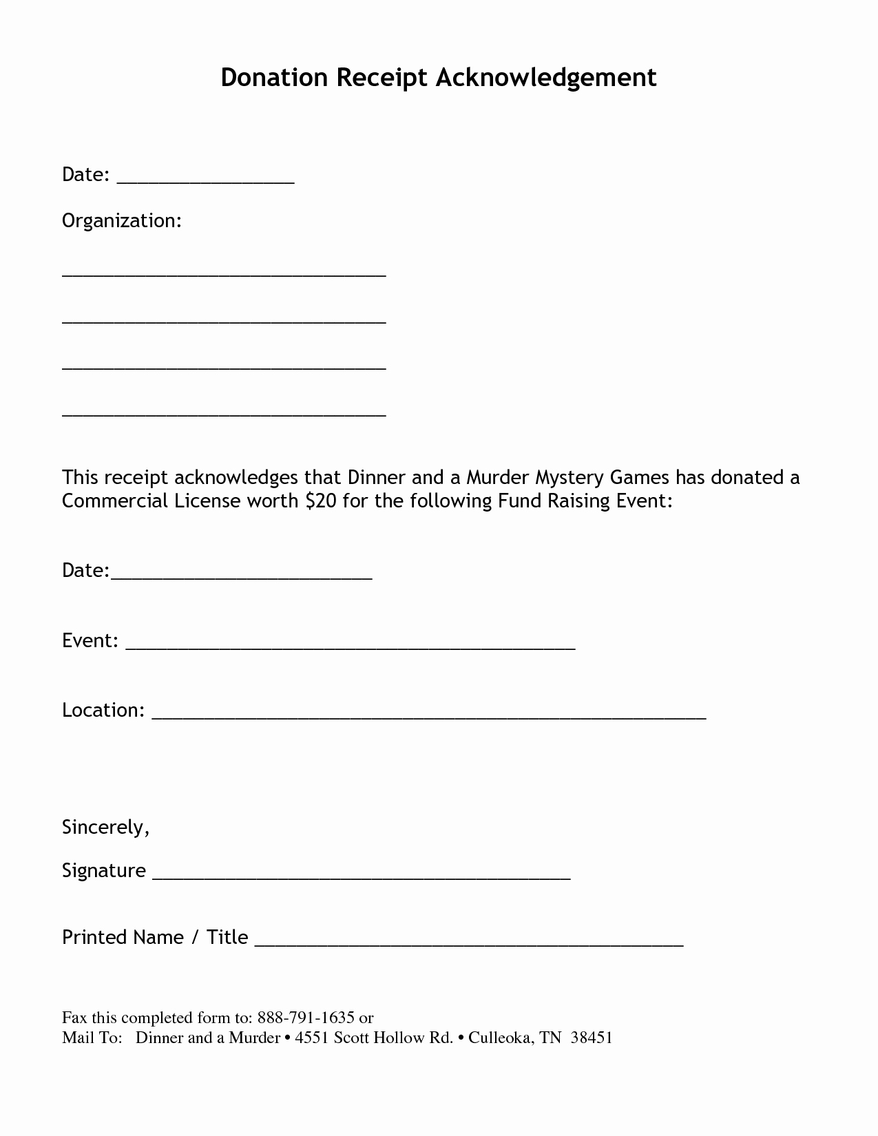 Donation Receipt Letter Template Awesome Non Profit Donation Receipt Letter Things & Stuff
