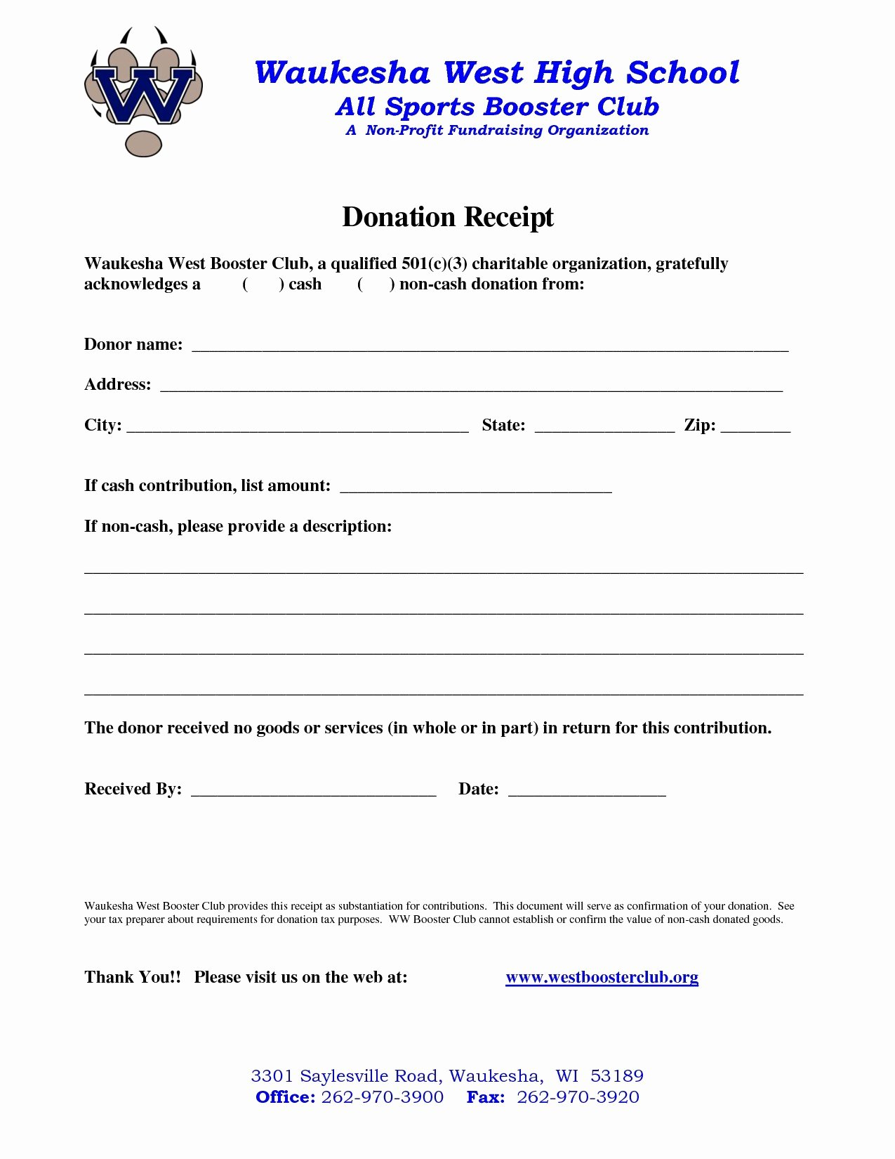 Donation Receipt Letter Template Lovely Non Profit Donation Receipt Letter Template Examples
