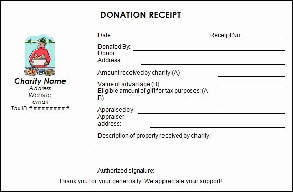 Donation Tax Receipt Template Inspirational Four Steps to Making Your Charitable Donation Eligible for