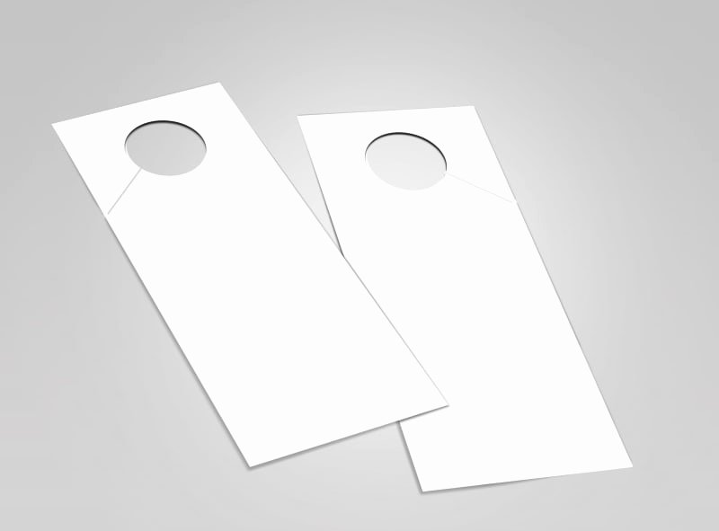 Door Hanger Template Free Awesome Blank Door Hanger Templates