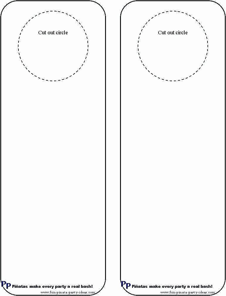 Door Hanger Template Illustrator Inspirational Door Knob Template Unique Hanger Illustrator Free