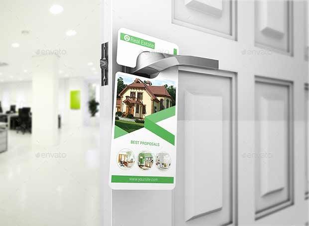 Door Hanger Template Psd Beautiful 16 Best Free Door Hanger Mockup Psd Templates