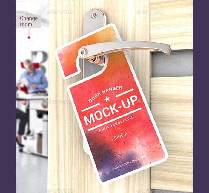 Door Hanger Template Psd Fresh 14 Free and Premium Door Hanger Mockup Templates Designyep