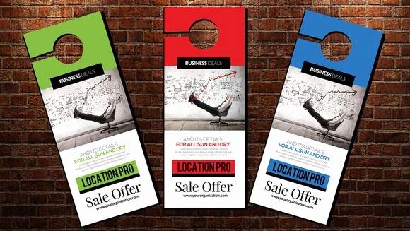 Door Hanger Template Psd Fresh Best 25 Door Hanger Template Ideas On Pinterest