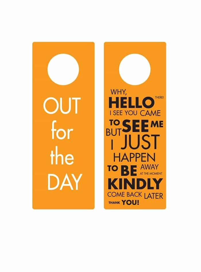 Door Hanger Template Word Elegant 43 Free Door Hanger Templates Word Pdf Template Lab