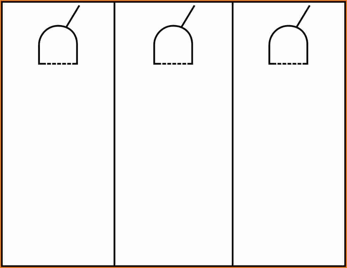 Door Hanger Template Word Elegant Door Hanger Template for Word