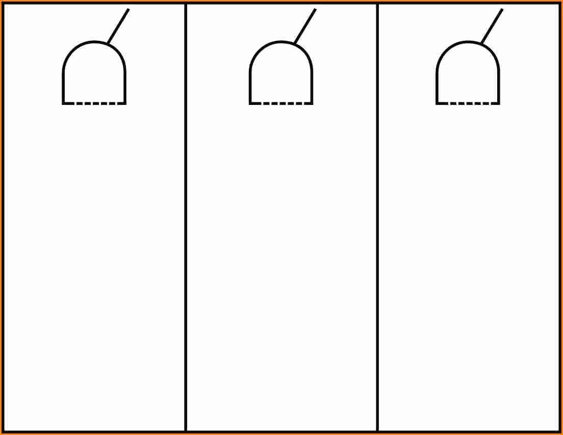 Door Hanger Template Word Elegant Door Hanger Template Word