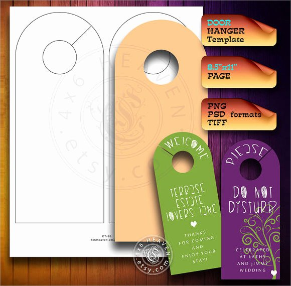 Door Hanger Template Word Lovely Sample Banking and Financial Door Hanger Templates 7